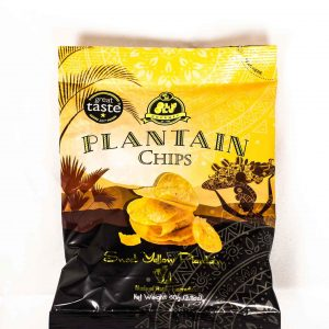 Plantain chips sweet yellow